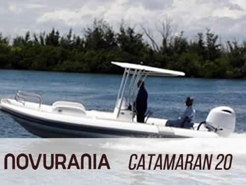 2019 Novurania Catamaran 20