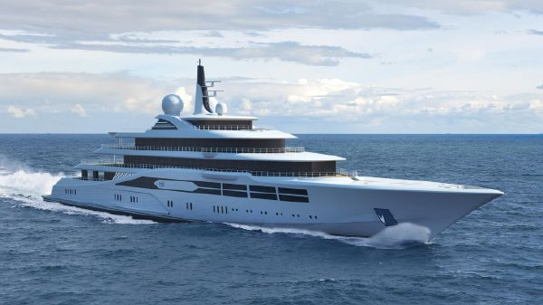 German Built Yacht 101 m