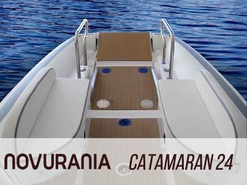 2020 Novurania Catamaran 24