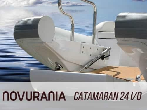 2021 Novurania Catamaran 24 Diesel I/O