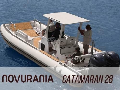 Novurania Catamaran 28 - main image
