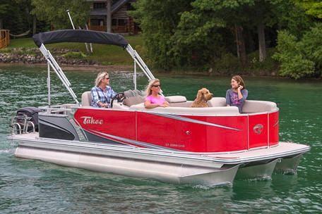 2019 Tahoe Pontoon LT Cruise Rear Bench - 20'