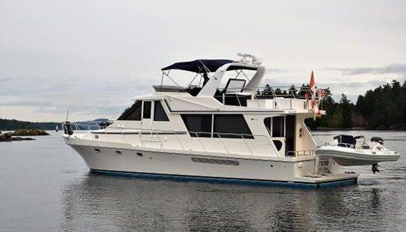 Canoe Cove 50 Pilothouse Luxury Yacht