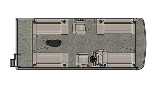 Avalon Venture Quad Lounge - 20'