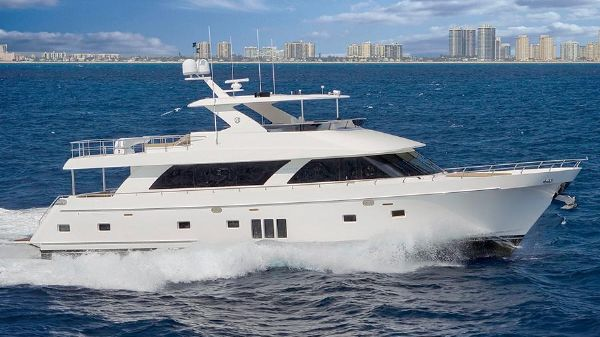 Ocean Alexander 85 Manufacturer Provided Image