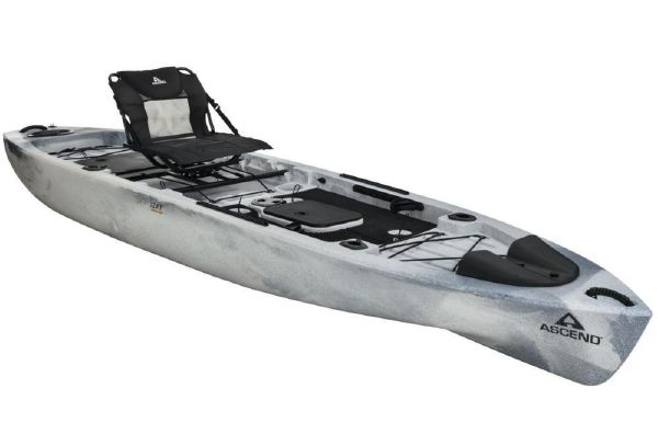 2020 Ascend 128T Yak-Power Sit-On - White-Black
