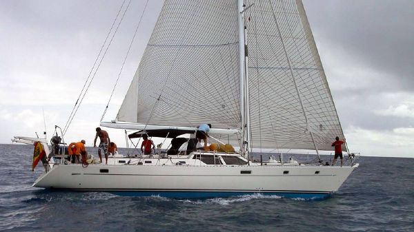 Oyster 55 Sloop Main view