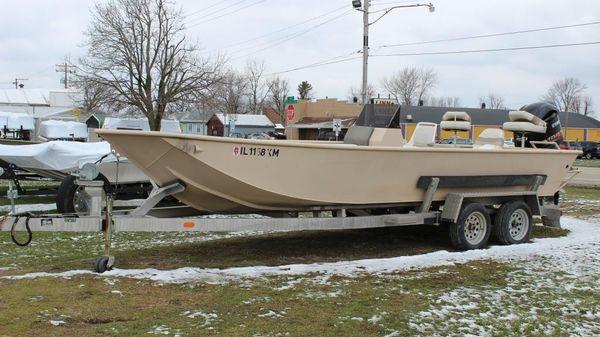 Custom Weld AAD Plate Boat