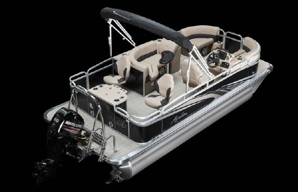 2019 Tahoe Pontoon LT Rear Fish - 22'