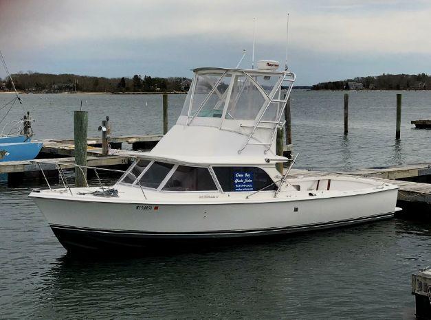 1974 Bertram 31 Flybridge Cruiser Massachusetts - Brewer Onset Bay