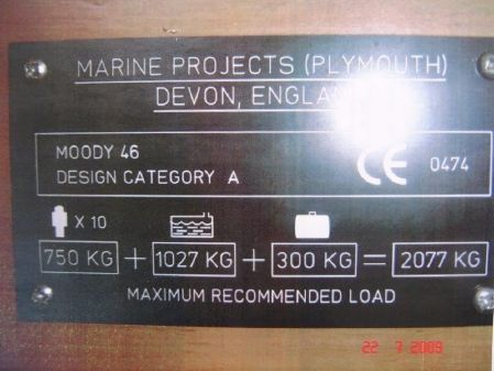 Moody 46CC image
