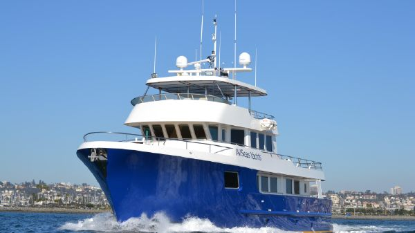 AllSeas Luxury Expedition Yachts 92 92 Foot Allseas running shot