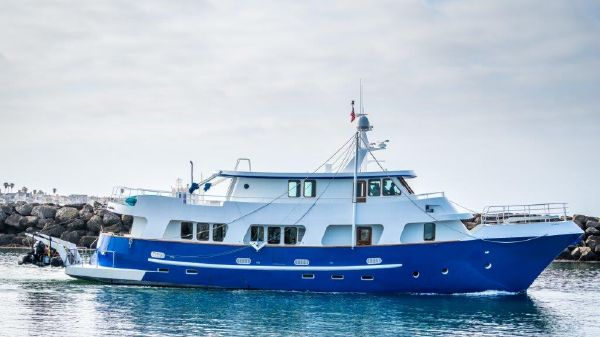 Custom Steel Expedition Yacht