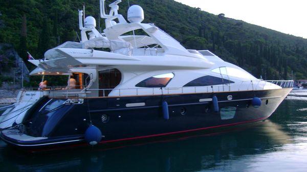 Azimut Carat Starboard exterior