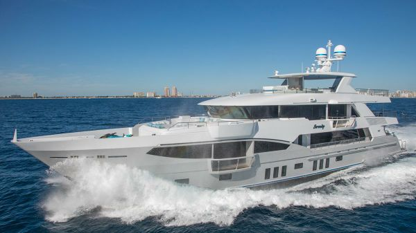 IAG Tri-Deck Motor Yacht