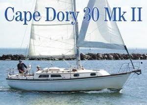 Cape Dory 30 MKII Underway