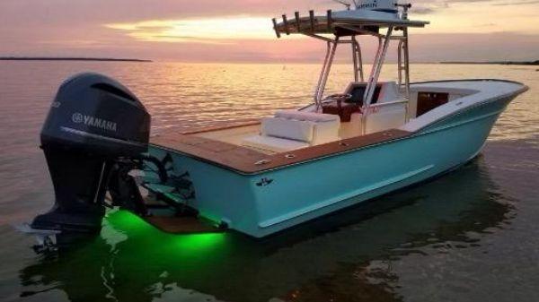 Custom Carolina Harrison Boat Works 28 CC Cuddy