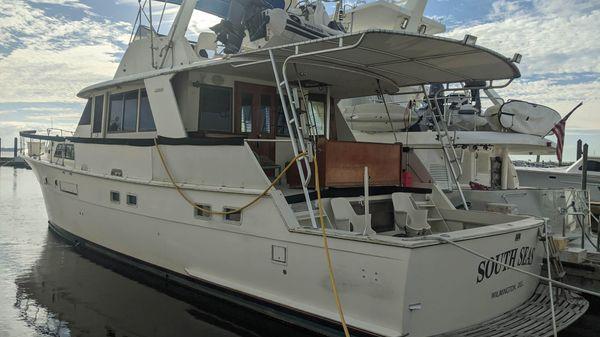 Hatteras CPMY Yacht Fisherman