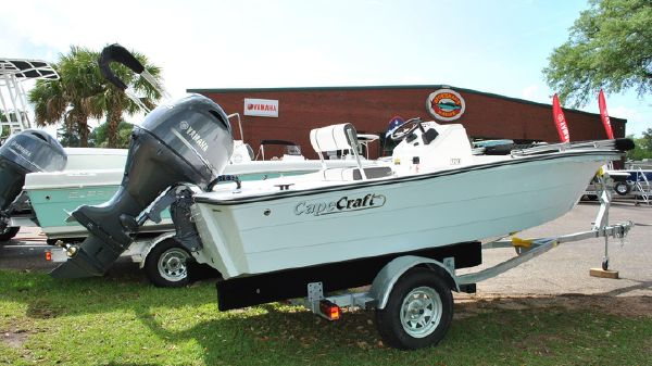 Cape Craft 180CC w/Yamaha F115 & Trailer