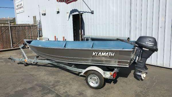 Klamath Deluxe Boat