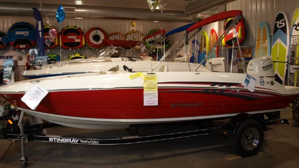 Stingray 182sc Side Console Deck