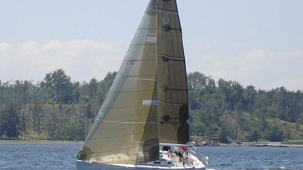 Beneteau First 36.7 Under Sail