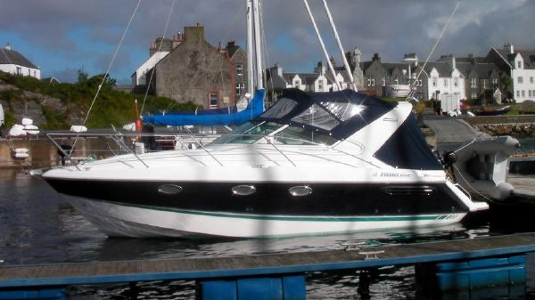Fairline Targa 29 hull afloat cruise 2011