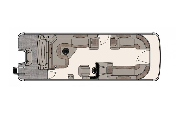 2020 Avalon Catalina Rear J Lounger - 25'