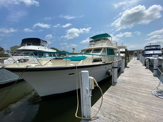 Hatteras 58 Yacht Fisherman - main image
