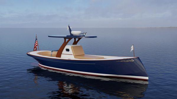 Custom Carolina M30 Moores Yachts