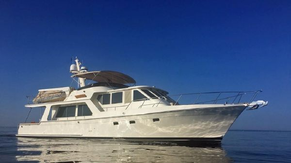 Offshore Yachts Pilothouse