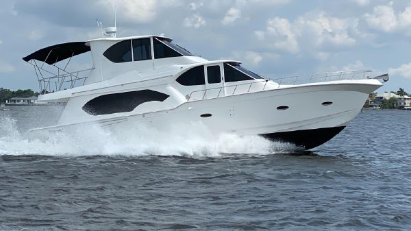 Sandpiper BUILT BY VADERBUILT YACHTS IN KENTUCKY 53 ENCLOSED FLY
