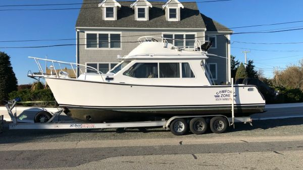 Crusader Boats Stahl 29 Flybridge Custom