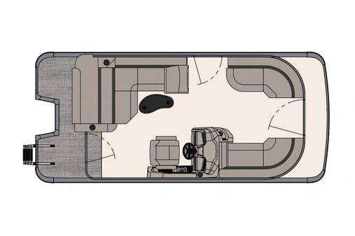 Avalon LSZ Cruise Rear Bench - 20' image