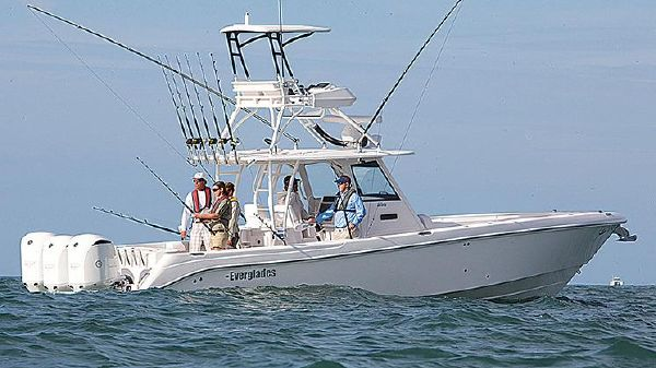 Everglades 355 Center Console Manufacturer Provided Image