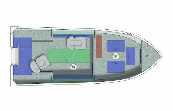 2021 Crestliner 1650 Discovery Tiller