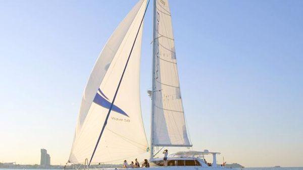 Wave Catamaran Sailing Profile