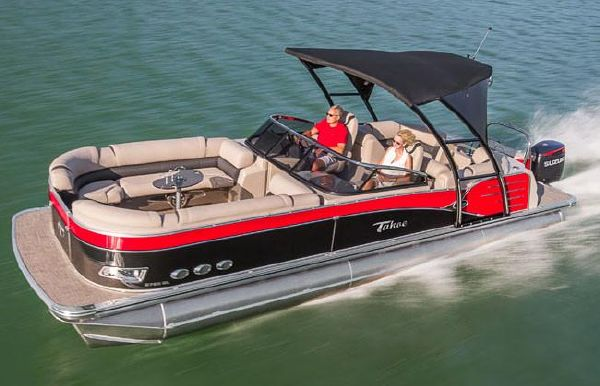 2019 Tahoe Pontoon Cascade Platinum Elite Windshield - 25'