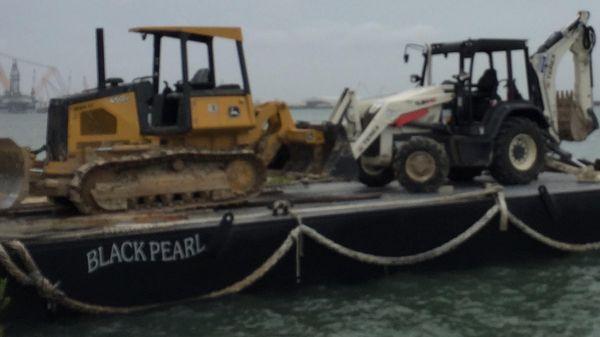 Custom Work Barge