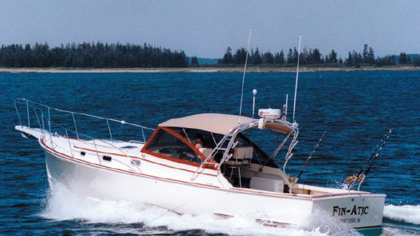 Atlantic BHM 36 Downeast Softtop Cruiser