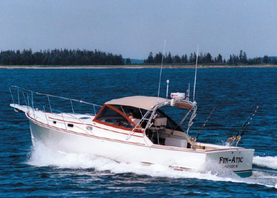 Atlantic BHM 36 Downeast Softtop Cruiser - main image