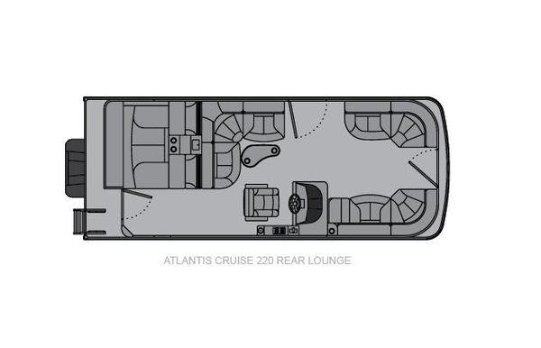 2021 Landau Atlantis 220 Cruise Rear Lounge