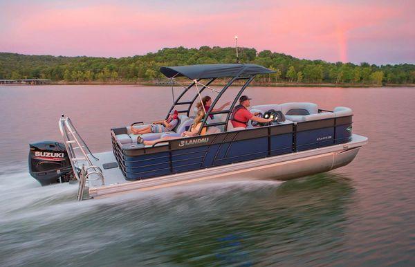 2021 Landau Atlantis 230 Cruise Split Rear Lounge