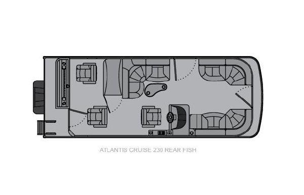 2021 Landau Atlantis 230 Cruise Rear Fish