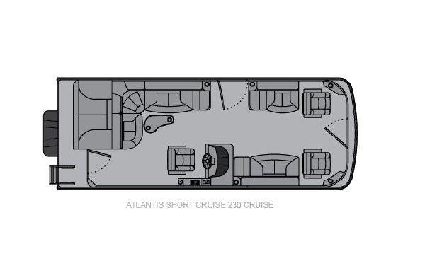 2021 Landau Atlantis 230 Cruise Sport Cruise