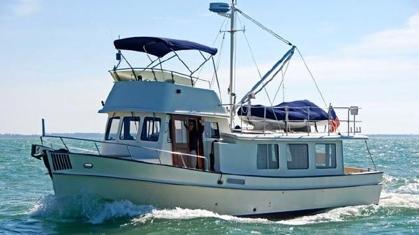 Pacific Trawler 37 Pilothouse Trawler
