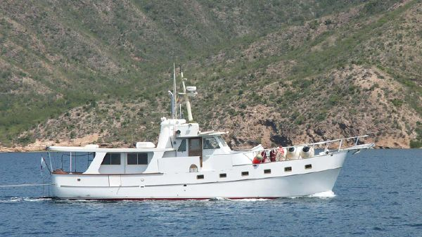 Roughwater Custom Long Range Trawler Swan Song