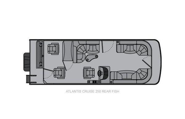 2021 Landau Atlantis 250 Cruise Rear Fish
