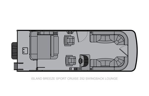 2021 Landau Atlantis 250 Cruise Swingback Lounge