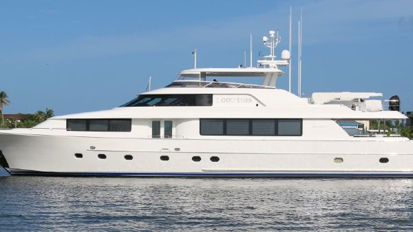 Westport 112 Motor Yacht Profile